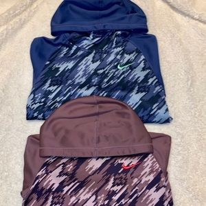 Nike girls hoodies
